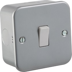 Metal Clad Sockets and Switches