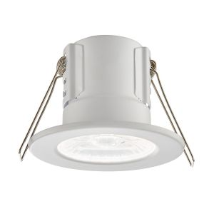 Saxby ShieldECO Fire Rated Downlight 8.5w (Matt White - Cool White)