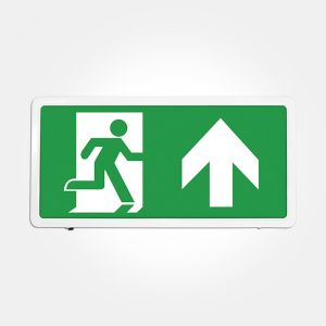 Eterna Self-Test LED Maintained Emergency Exit Box Sign